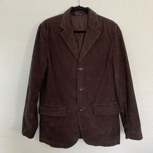 Banana Republic Brown Corduroy Jacket 40R